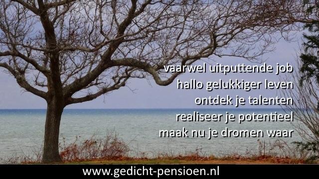 Korte gedichten pensioen met humoristische teksten pensionering: www.gedicht-pensioen.nl/mooie-versjes-pensioen-mama.html