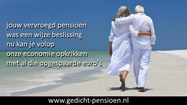 Zeer GRAPPIGE GEDICHTEN PENSIOEN met humoristische teksten pensionering UE83