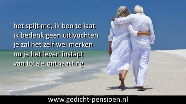 Gedichten Vervroegd Pensioen Met Teksten Speech Pensionering